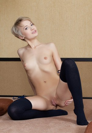 Small Tits Shaved Pussy